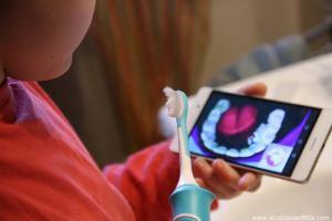 spazzolino elettrico per bambini