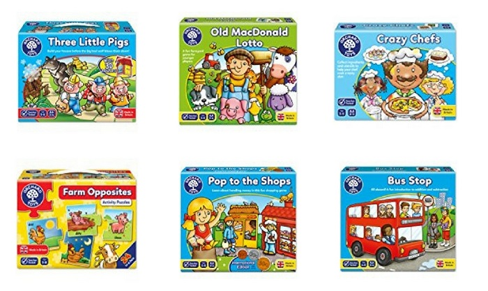 giochi in inglese orchard toys