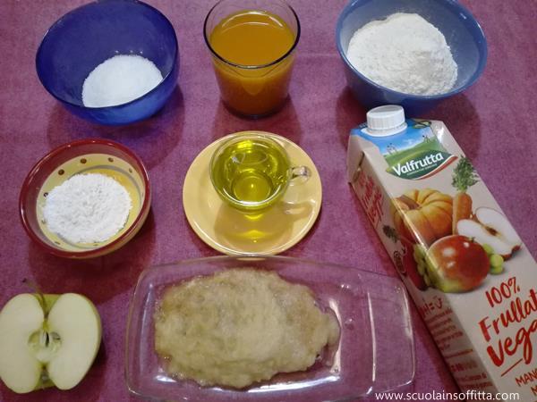 torta con succo di frutta ricetta