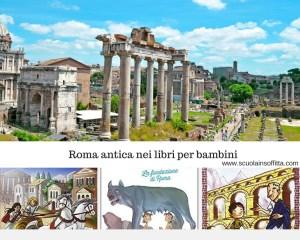 Imparare la storia dei Romani con i libri per bambini
