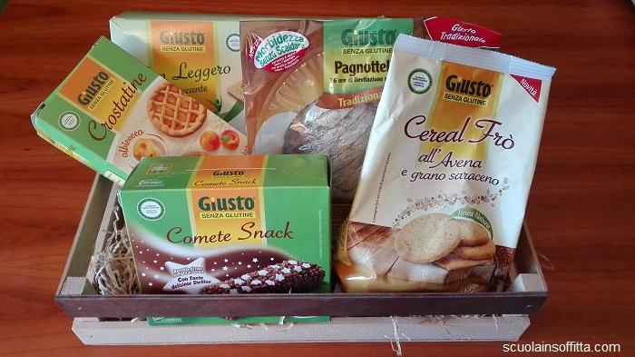 Alimenti senza glutine Giusto Giuliani