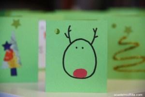 Segnapacchi fai da te, biglietti di Natale fai da te