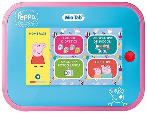 Tablet per bambini Lisciani Mio Tab Peppa Pig