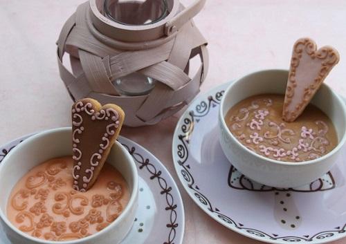 biscotti di san valentino con glassa