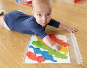 giochi per neonati fai da te