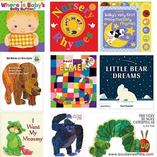 libri in inglese per bambini da 0 a 3 anni