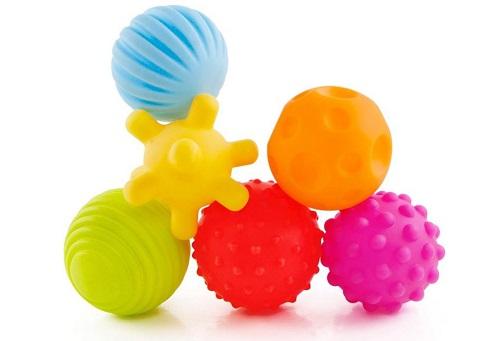 Palle sensoriali per neonati