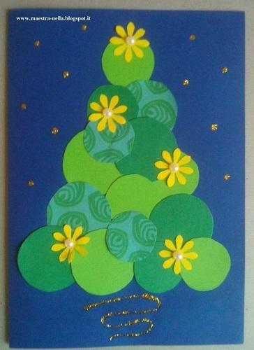 Biglietto di Natale: albero