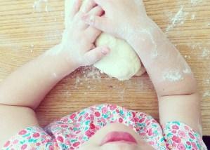 Lavoretti con pasta di sale per bambini