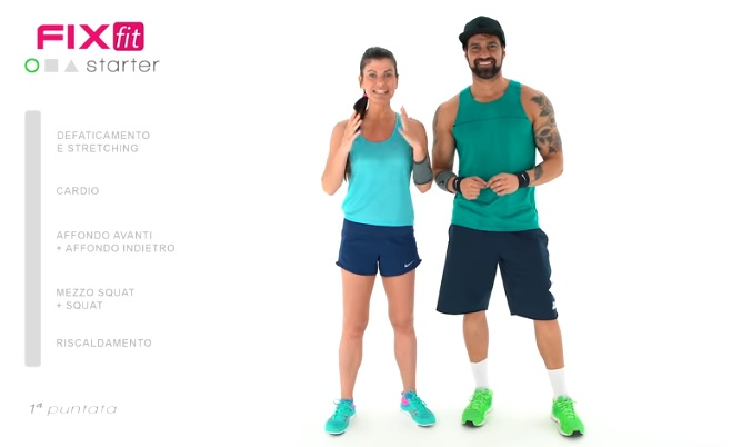 Canale youtube fitness in italiano