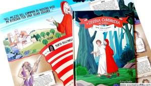 La divina commedia per bambini in edicola Hachette