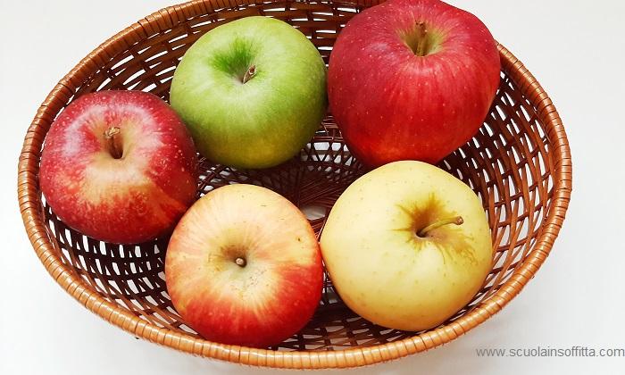 attività con le mele degustazione