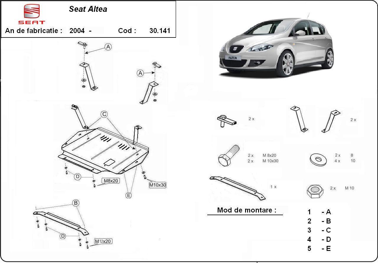 Scut Motor Seat