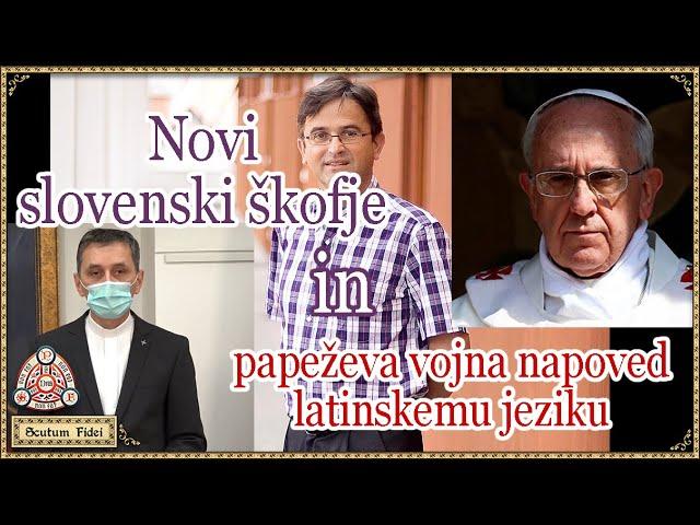 Novi škofje in boj proti latinščini v Cerkvi – julij 2021