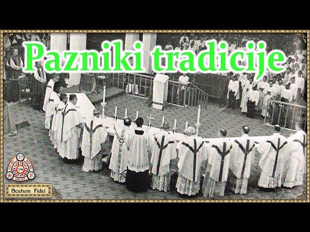 Pazniki tradicije, ki je ne priznavajo?