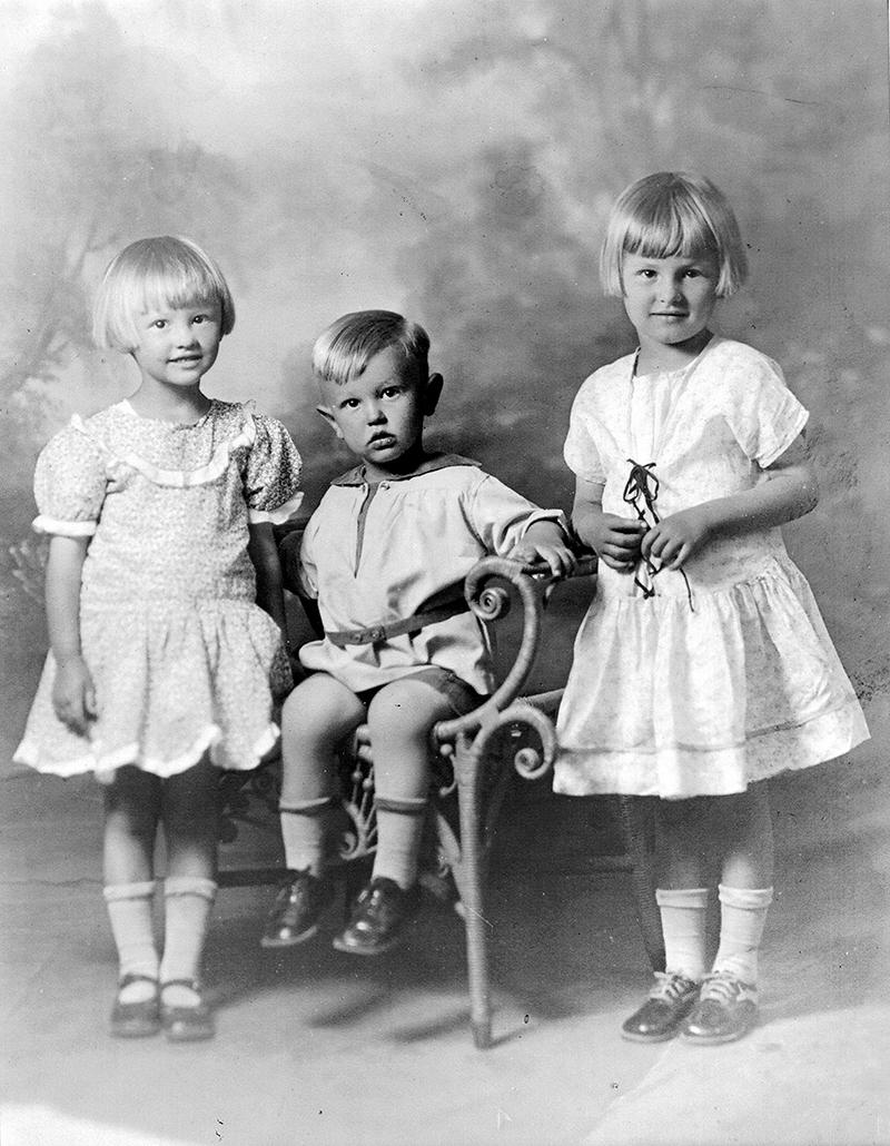 Marjorie, Mazie & Danny Curtis ST. FRANCIS DAM VICTIMS