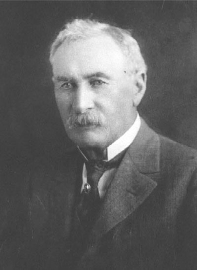 William Mulholland. ST. FRANCIS DAM BUILDER. Photos of the St. Francis Dam disaster.