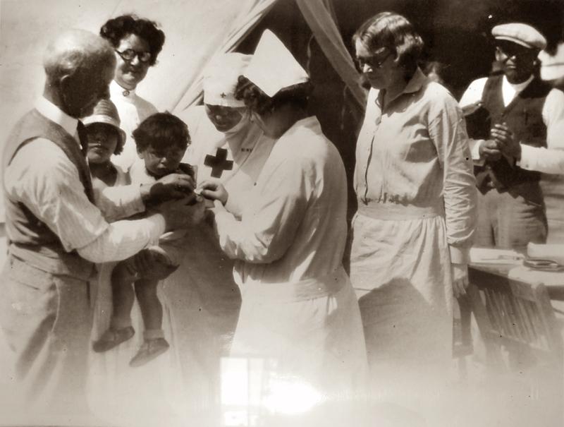 Red Cross Medical Shelter  SANTA PAULA