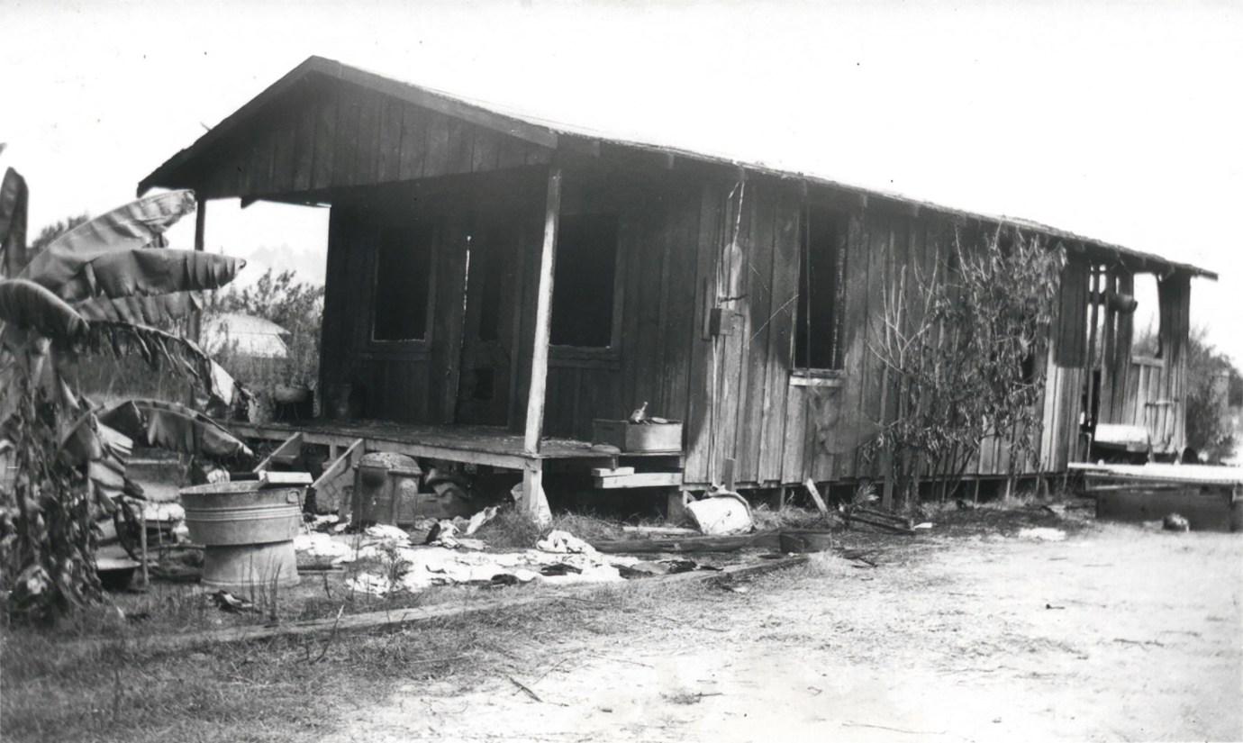 Structure Damage in Santa Paula  ST. FRANCIS DAM DISASTER
