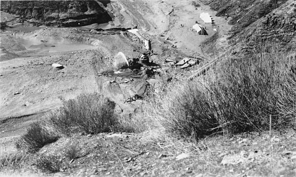 St. Francis Dam Disaster  San Francisquito Canyon