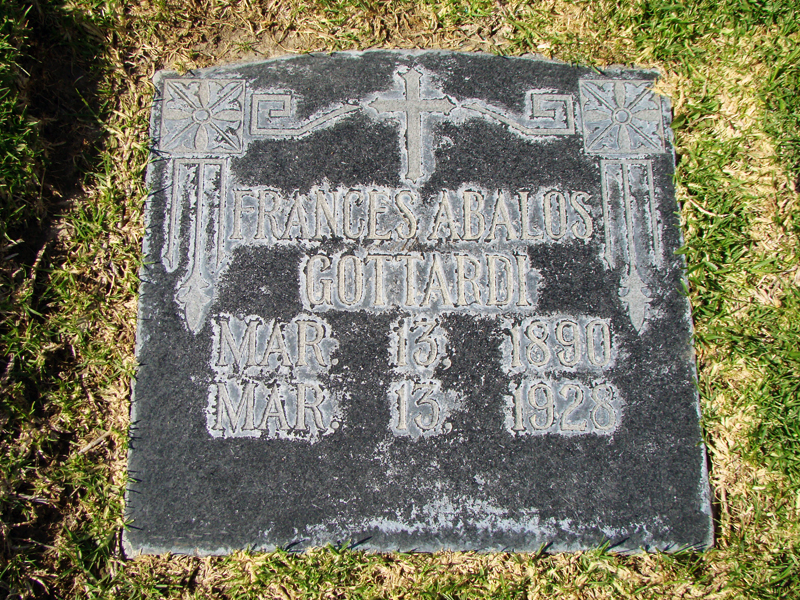 Gottardi Family Graves ST. FRANCIS DAM DISASTER | PIRU CEMETERY