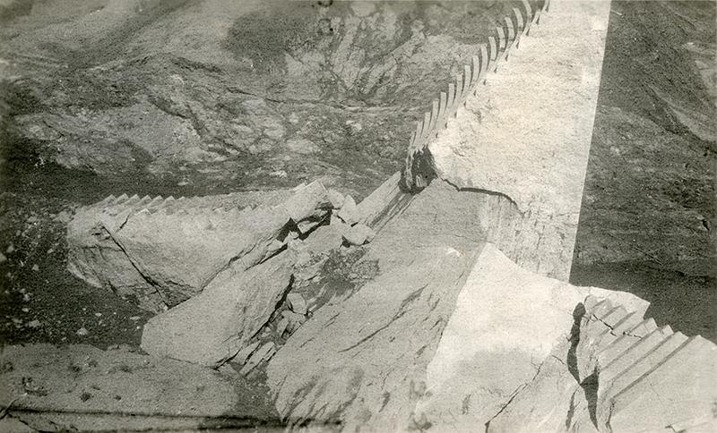 Dam Site ST. FRANCIS DAM DISASTER | EX-RUTH TEAGUE