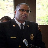 County Fire Chief Daryl Osby at Station 128