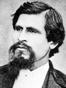 19th-century outlaw Tiburcio Vasquez, the rocks' namesake.