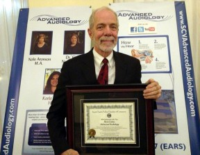 Steven Lettau of Advanced Audiology was named Chamber Ambassador of the Year.