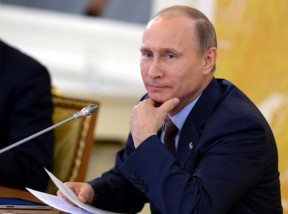 Russian President Vladimir Putin at the G-20 Summit in St. Petersburg in early September.