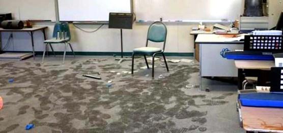Castaic Elementary School Music Classroom Vandalized