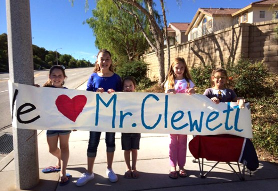 Three Castaic Union School District students put on a bake sale on Dec. 31 to raise money for Castaic Elementary School's music classroom, which was vandalized over Christmas week. A check will be presented to the PTA on Tuesday.
