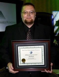 Chris Kaub won the Special Achievement award.