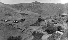 Mentryville in Pico Canyon, 1885-1891 | Click to view