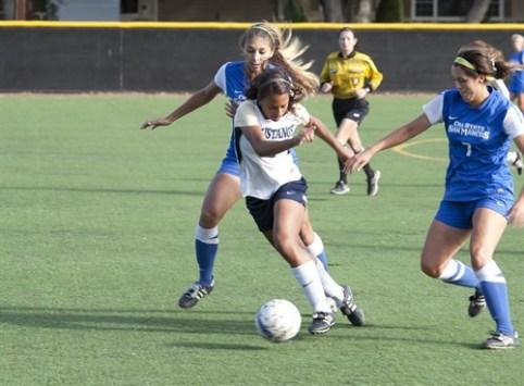 TMU Lady Mustangs soccer
