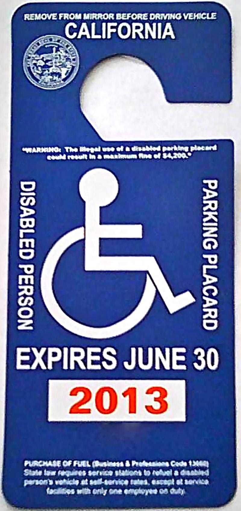 Handicap Plate Permit For Rhode Island