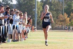 Saugus native Karis Frankian was named NAIA Women's Cross Country National Runner of the Week.
