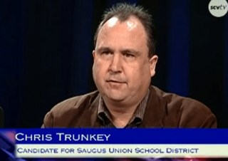 File photo: Trunkey participates in a candidate forum in October 2013.