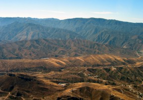 Cemex area in Soledad Canyon
