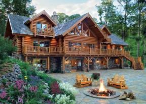 log-cabin-w-stone-porch