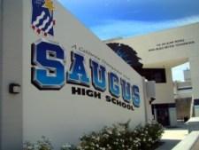 Saugus High School monument
