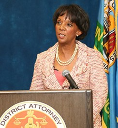 Los Angeles County District Attorney Jackie Lacey
