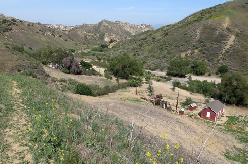 mentryville in pico canyon