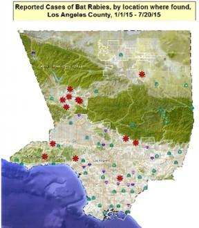 2015LA CountyRabiesMap-13bats