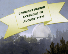 National Monument Plan Comments extended
