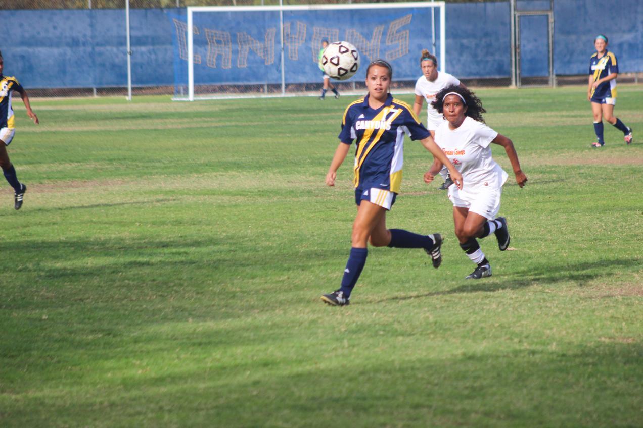 SCVNews.com | COC Women's Soccer Hosts San Diego Mesa ...
