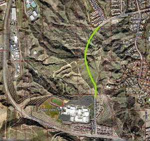 Via-Princessa-To-Golden-Valley-Road-Extension