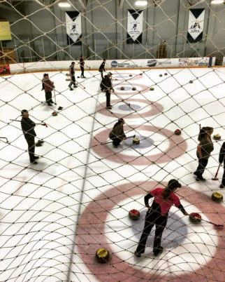 hollywood curling valencia ice station