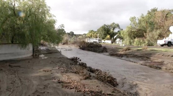 Flooding in Iron Canyon -- file photo