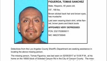 SCVNews com | Canyon Country Man Officially a Missing Person | 02-22